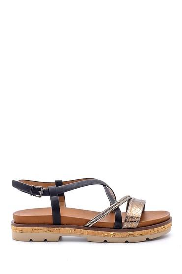 Siyah Kadın Sandalet 5638192202