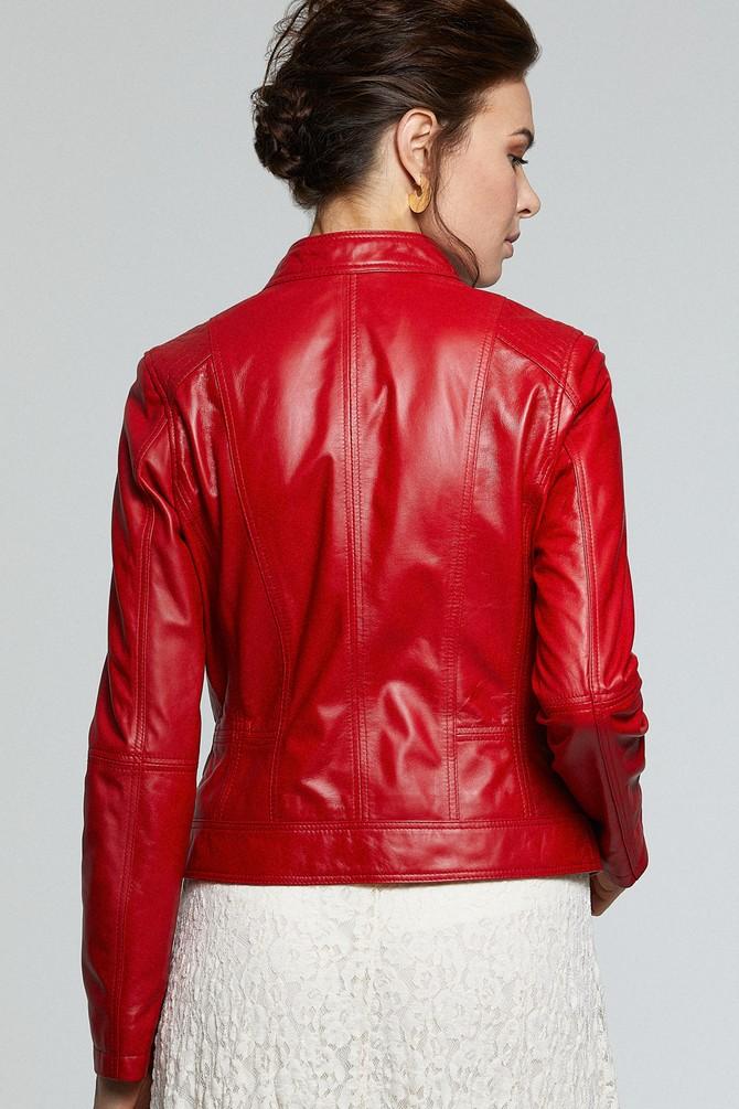5638176448 Kylie Kadın Deri Ceket