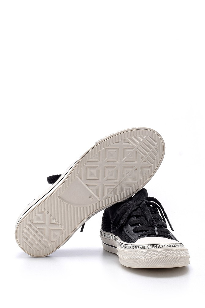 5638203254 Kadın Yazı Baskılı Ayakkabı