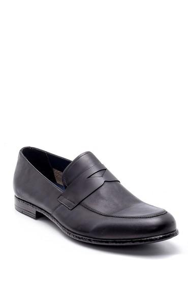 Siyah Erkek Deri Loafer 5638156242