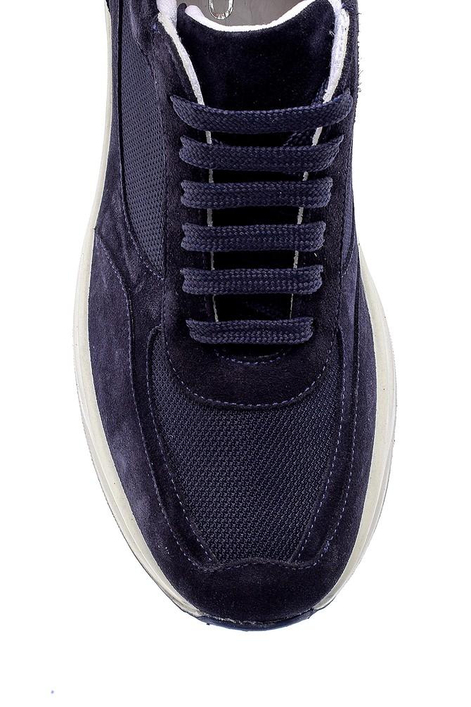 5638157971 Erkek Süet Deri Sneaker
