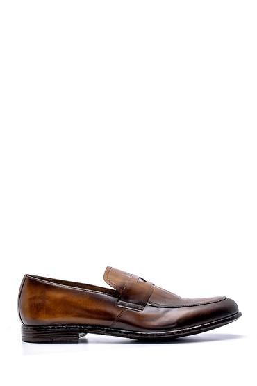 Kahverengi Erkek Deri Loafer 5638156241