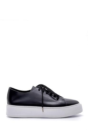 Siyah Erkek Deri Ayakkabı 5638158004