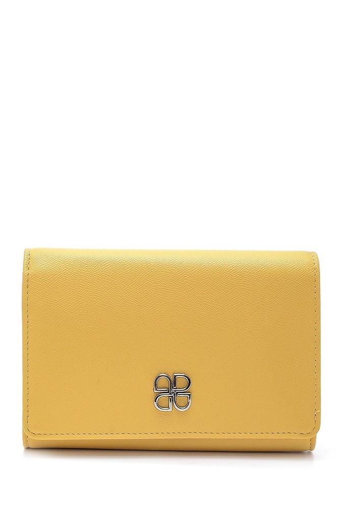 Sarı Kadın Cüzdan 5638198543