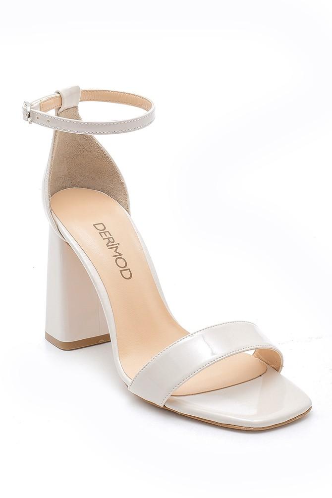 5638166170 Kadın Kalın Topuklu Sandalet