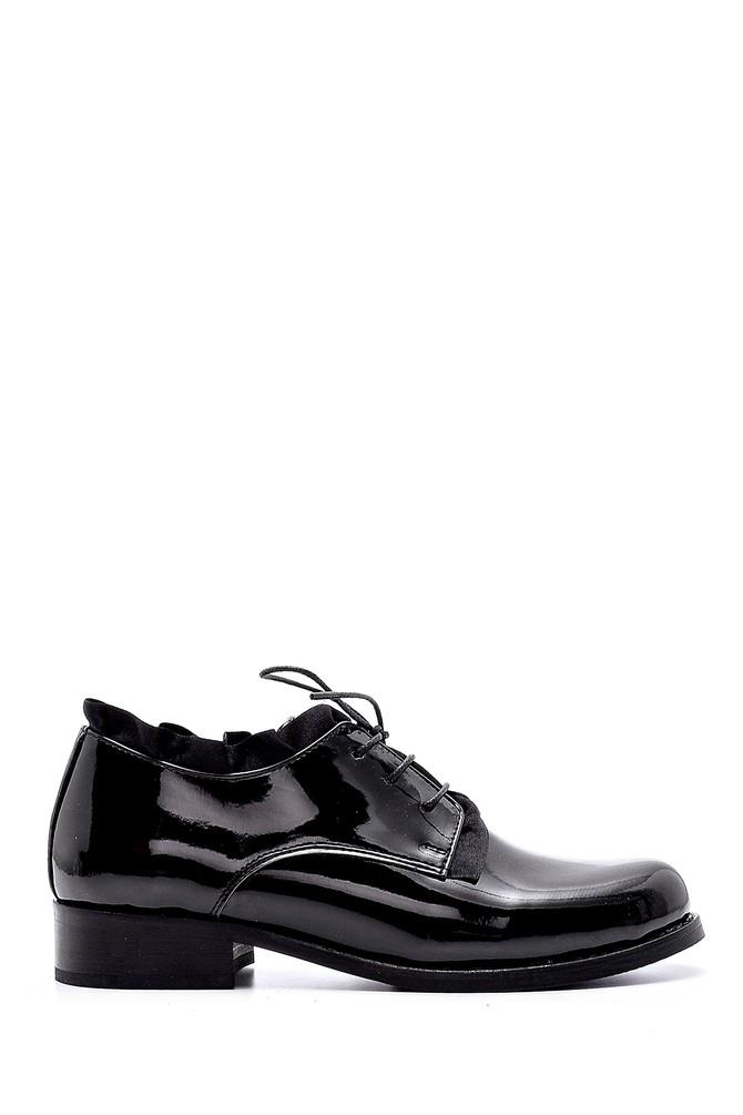 Siyah Kadın Rugan Casual Ayakkabı 5638194017