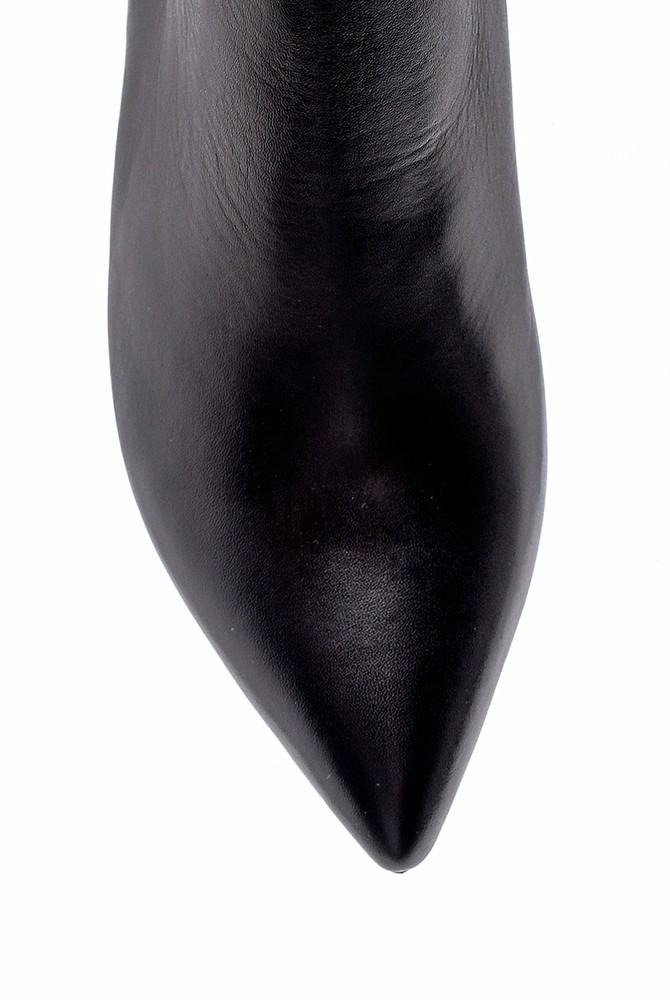 5638194577 Kadın Deri Topuklu Bot