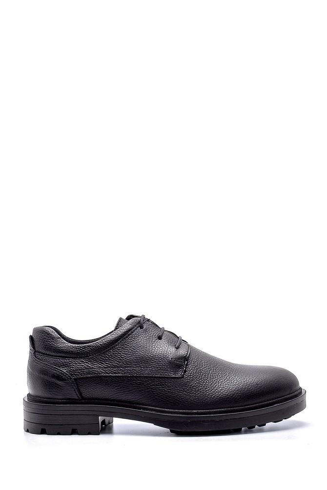 Siyah Erkek Deri Ayakkabı 5638197171