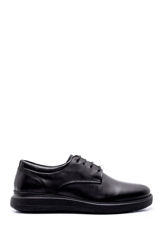 Siyah Erkek Deri Ayakkabı 5638197244