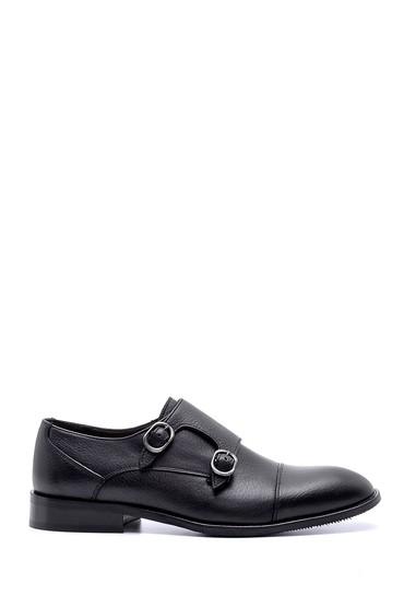 Siyah Erkek Deri Klasik Ayakkabı 5638199839