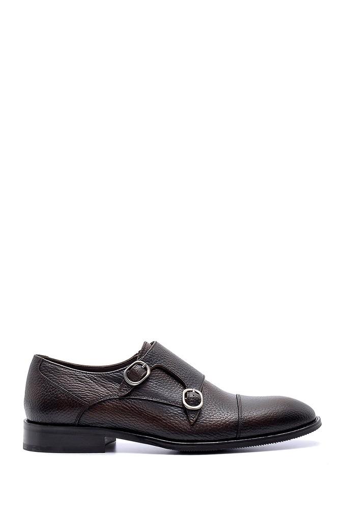 Kahverengi Erkek Deri Klasik Ayakkabı 5638199838