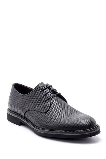 Siyah Erkek Deri Klasik Ayakkabı 5638200058