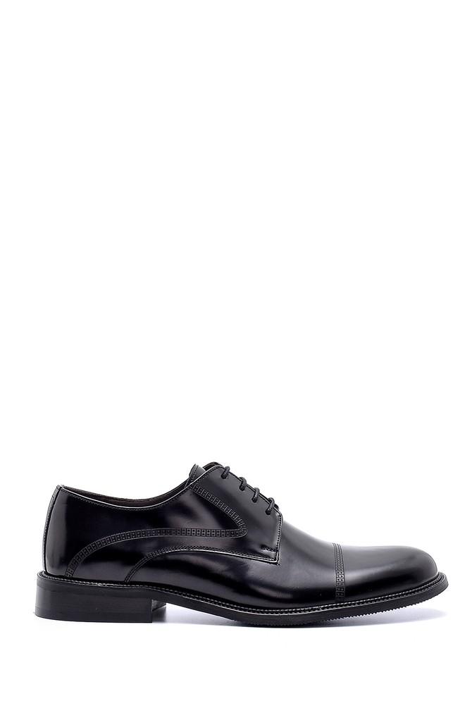 Siyah Erkek Deri Klasik Ayakkabı 5638200379