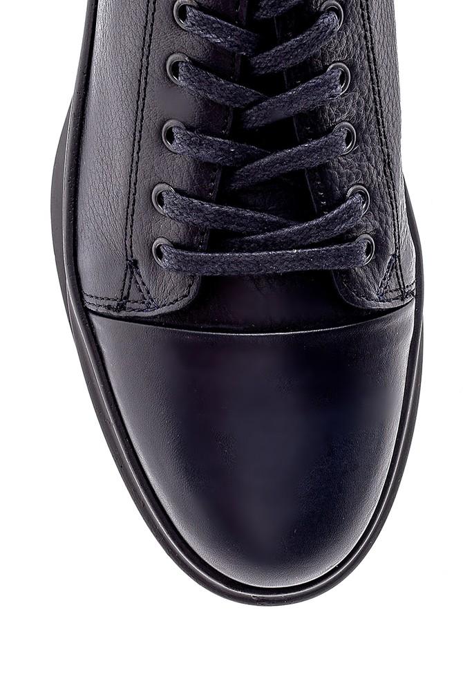 5638196939 Erkek Deri Sneaker