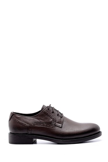 Kahverengi Erkek Deri Klasik Ayakkabı 5638208466