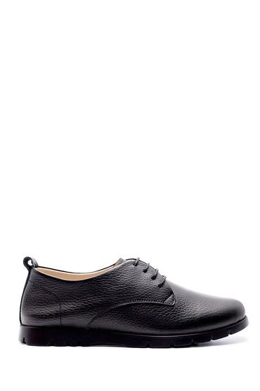 Siyah Kadın Deri Ayakkabı 5638209591