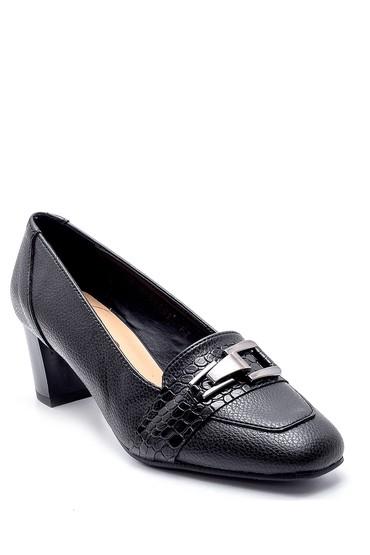 Siyah Kadın Topuklu Ayakkabı 5638178175