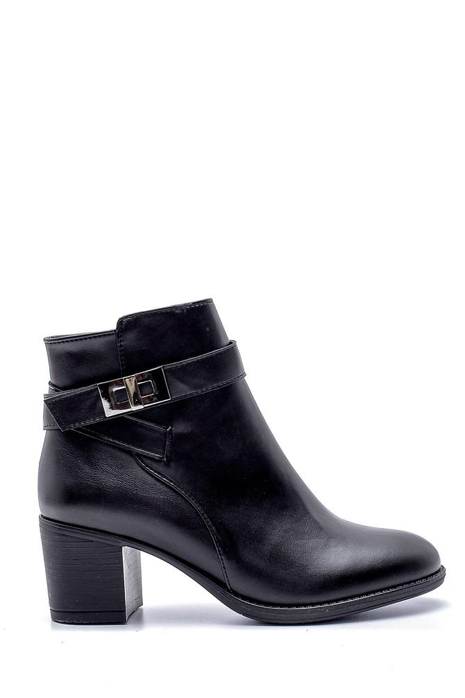 Siyah Kadın Topuklu Bot 5638178307