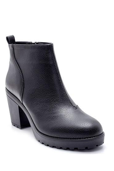 Siyah Kadın Topuklu Bot 5638178380