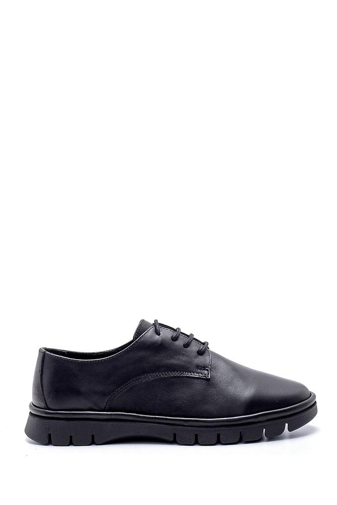 Siyah Kadın Deri Ayakkabı 5638191947