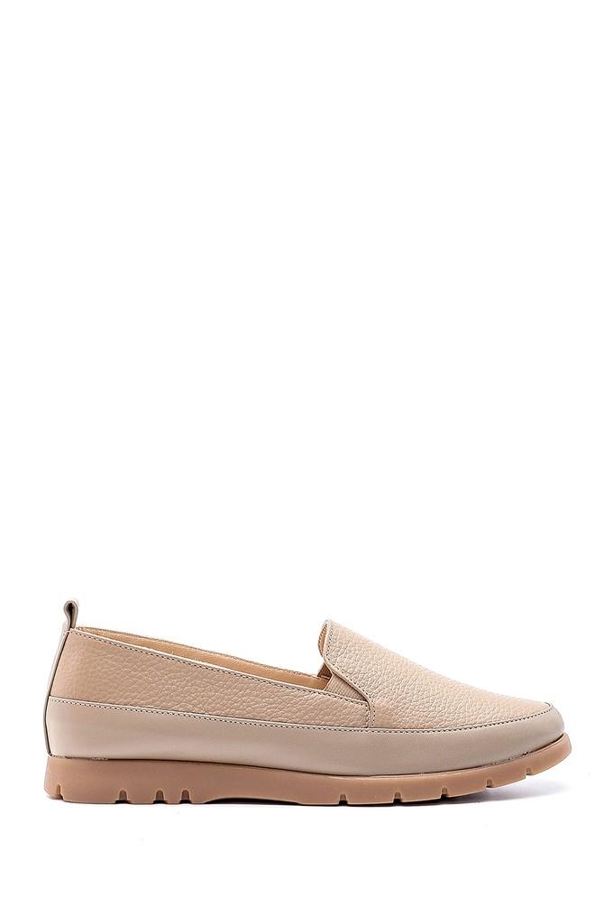 Vizon Kadın Deri Ayakkabı 5638193898
