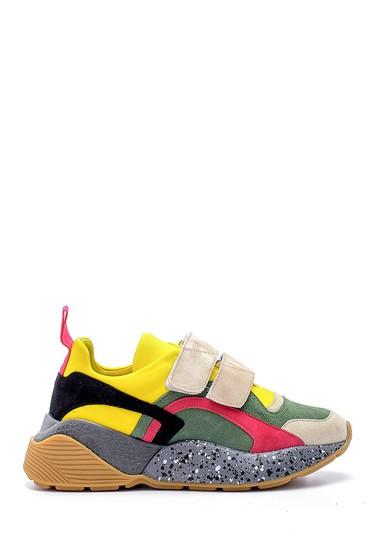 Multi Renk Kadın Yüksek Tabanlı Sneaker 5638195369