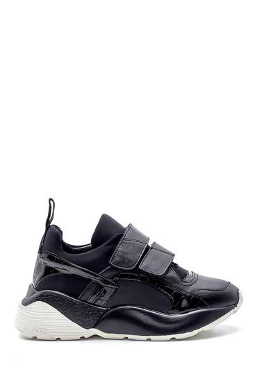 Siyah Kadın Yüksek Tabanlı Sneaker 5638195371