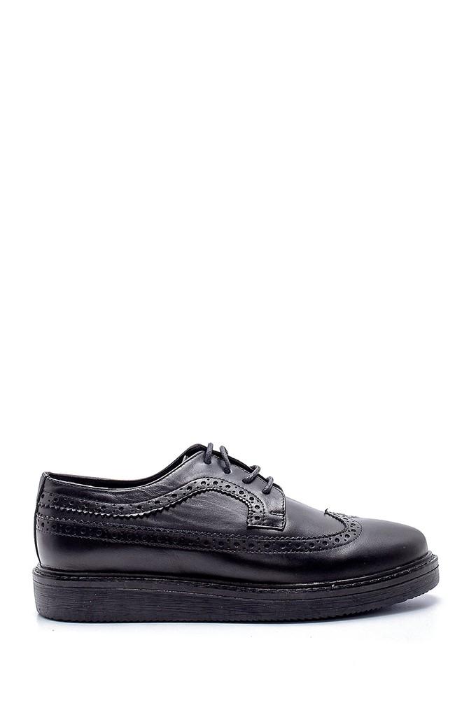 Siyah Kadın Deri Casual Ayakkabı 5638202990