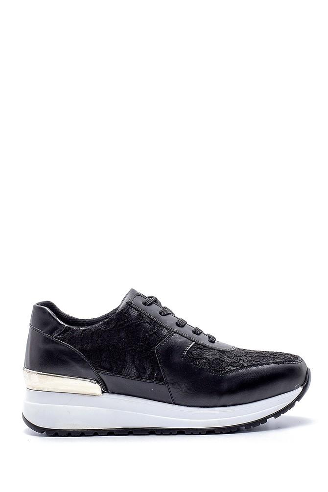 Siyah Kadın Sneaker 5638203195