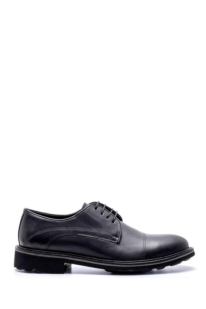 Siyah Erkek Deri Klasik Ayakkabı 5638203715