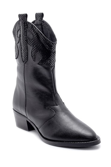 Siyah Kadın Kovboy Bot 5638178417