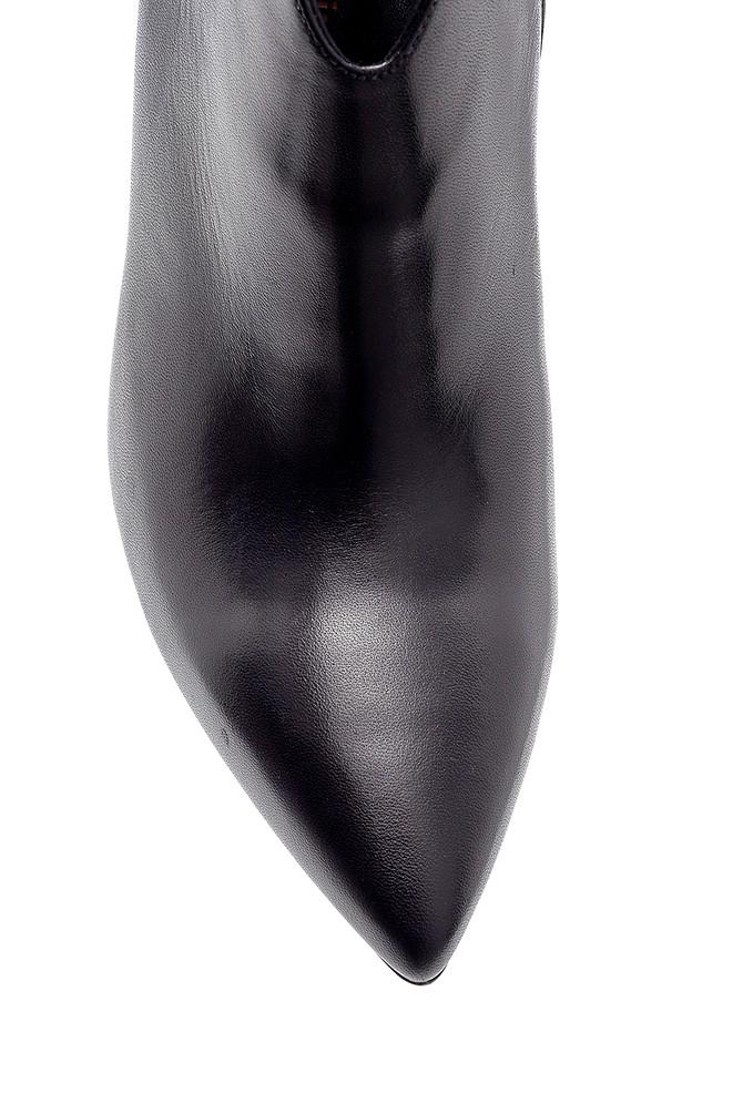 5638198562 Kadın Deri Bootie