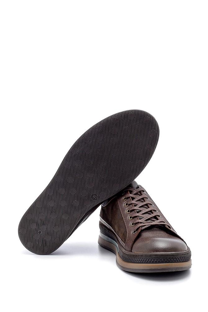 5638203885 Erkek Deri Sneaker