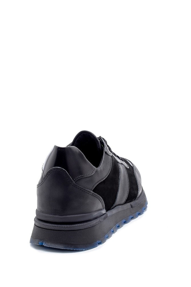 5638204040 Erkek Süet Deri Sneaker