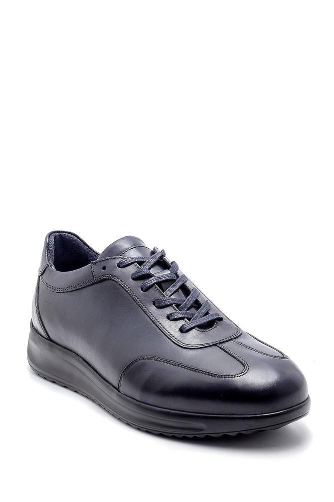 5638204456 Erkek Deri Sneaker