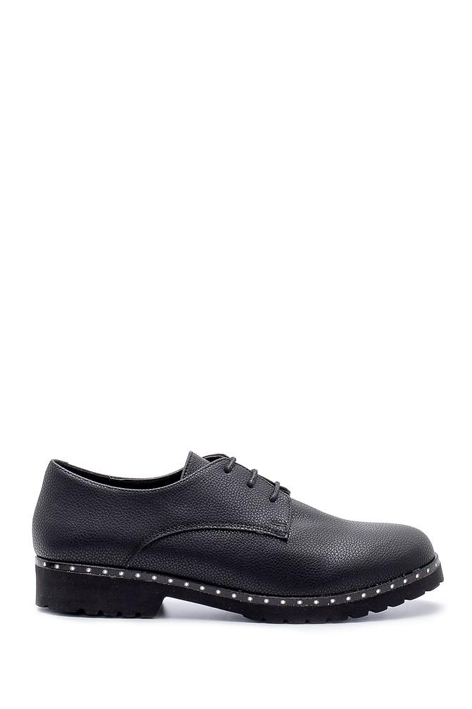 Siyah Kadın Casual Ayakkabı 5638199491