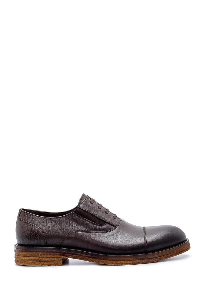 Kahverengi Erkek Deri Klasik Ayakkabı 5638200356