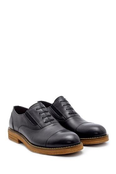 Siyah Erkek Deri Klasik Ayakkabı 5638200357