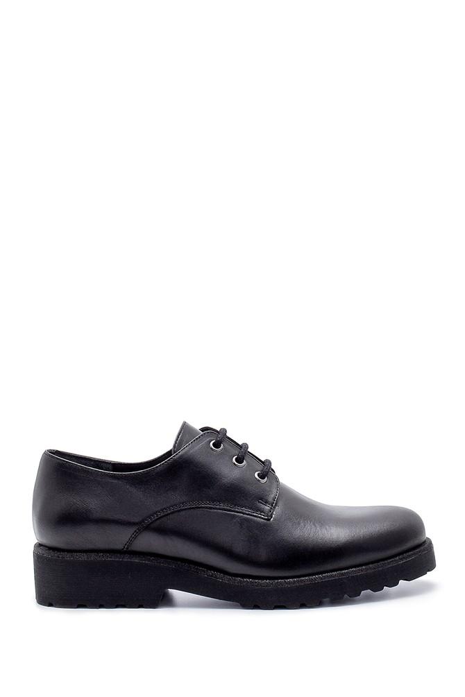 Siyah Kadın Deri Ayakkabı 5638202978