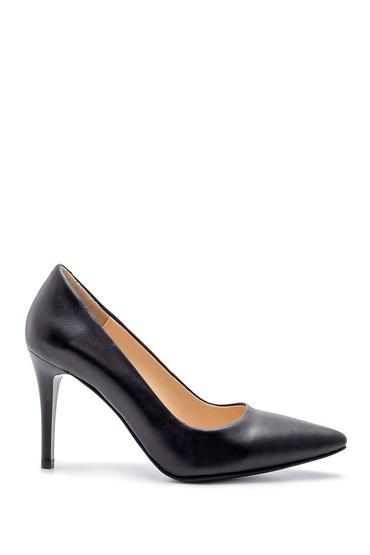 Siyah Kadın Deri Stiletto 5638203000