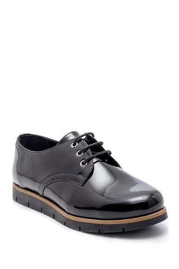 Siyah Kadın Rugan Casual Ayakkabı 5638203075
