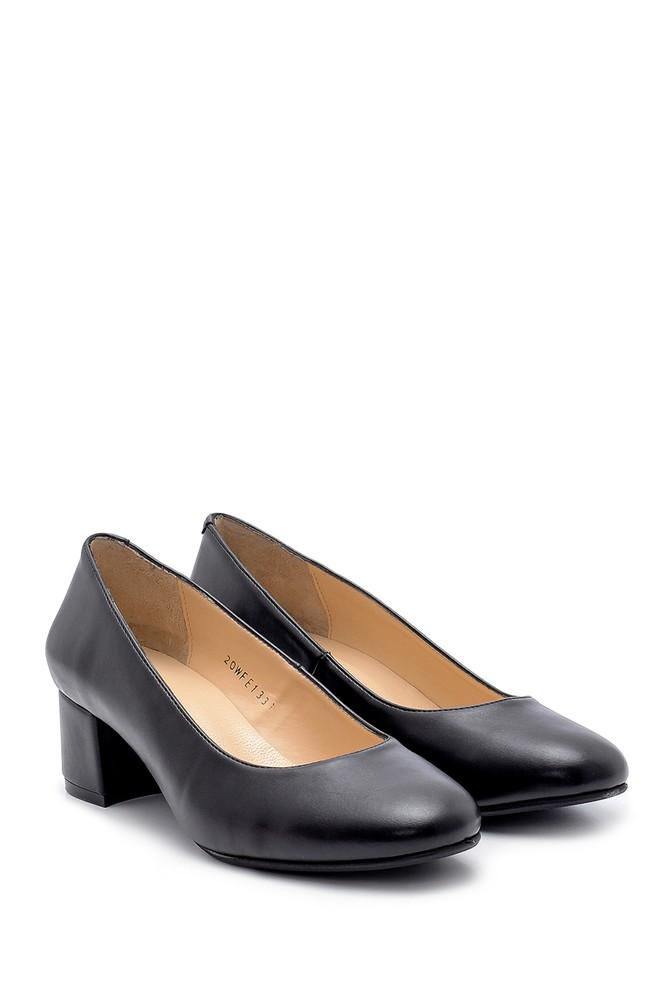 5638203085 Kadın Kalın Topuklu Ayakkabı