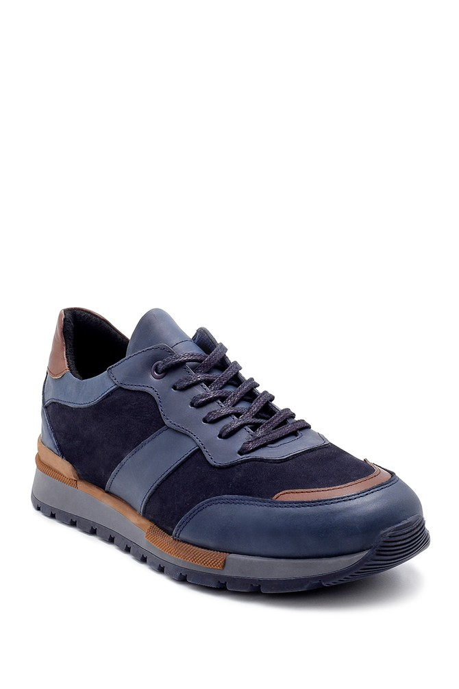 5638203956 Erkek Süet Deri Sneaker