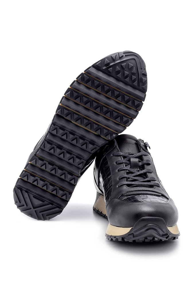 5638204800 Erkek Deri Sneaker