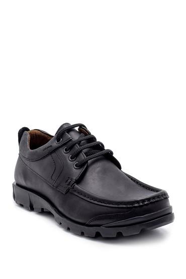Siyah Erkek Deri Casual Ayakkabı 5638209191