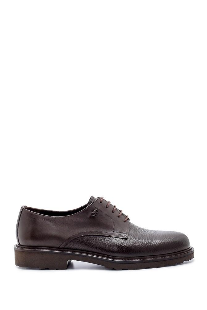 Kahverengi Erkek Deri Klasik Ayakkabı 5638209798
