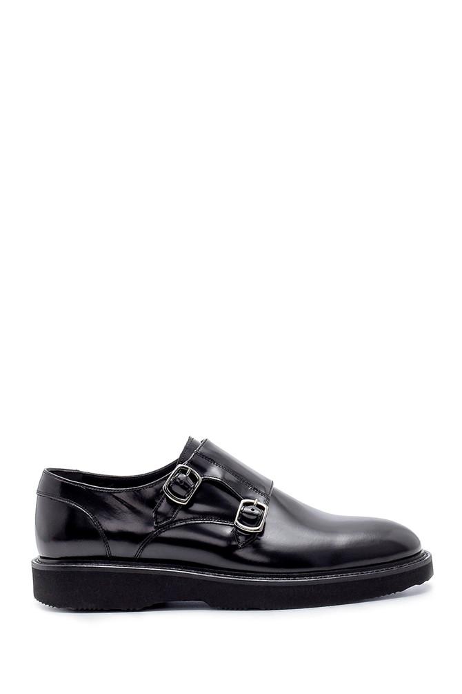 Siyah Erkek Deri Klasik Ayakkabı 5638209878