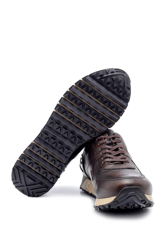5638204689 Erkek Deri Sneaker