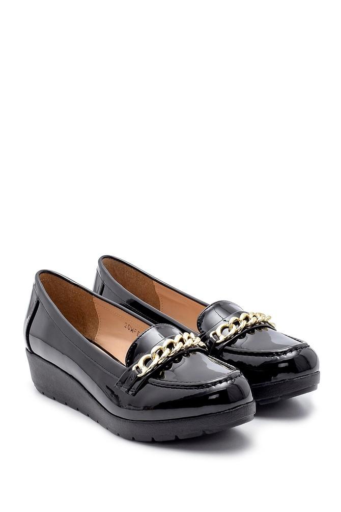 5638199394 Kadın Rugan Ayakkabı