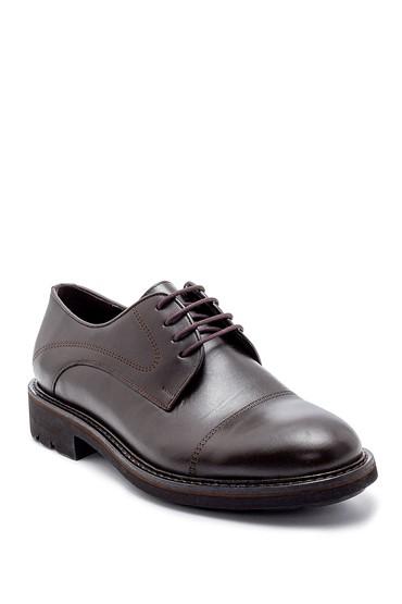 Kahverengi Erkek Deri Klasik Ayakkabı 5638203710